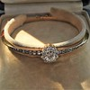 2.78ctw Victorian Cushion Cut Cluster Bangle, French 27