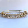 3.24ctw MidCentury Cushion Cut Diamond Bangle by Jack Gutschneider 10
