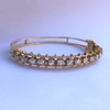3.24ctw MidCentury Cushion Cut Diamond Bangle by Jack Gutschneider 5