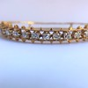 3.24ctw MidCentury Cushion Cut Diamond Bangle by Jack Gutschneider 9