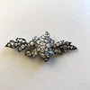 3.10ctw Georgian-era Leafy Pave Diamond Brooch 13