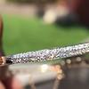 4.50ctw Sapphire and Diamond Serpent Bangle