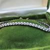 5.05ctw 18kt White Gold Tennis Bracelet 1