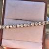 5.05ctw 18kt White Gold Tennis Bracelet 5