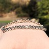 6.00ctw Platinum Diamond Tennis Bracelet 15