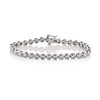 6.00ctw Platinum Diamond Tennis Bracelet 0