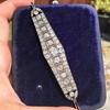 6.94ctw Victorian Diamond Bracelet 0