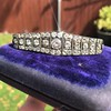 6.94ctw Victorian Diamond Bracelet 10