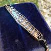 6.94ctw Victorian Diamond Bracelet 7