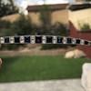 8.17ctw Art Deco Diamond and Sapphire Flexible Link Bracelet 21