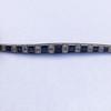 8.17ctw Art Deco Diamond and Sapphire Flexible Link Bracelet 16