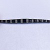 8.17ctw Art Deco Diamond and Sapphire Flexible Link Bracelet 14