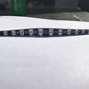 8.17ctw Art Deco Diamond and Sapphire Flexible Link Bracelet 8