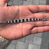 8.17ctw Art Deco Diamond and Sapphire Flexible Link Bracelet 11