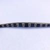8.17ctw Art Deco Diamond and Sapphire Flexible Link Bracelet 15