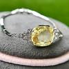 9.50ct (est) Art Deco Yellow Sapphire Bracelet 5