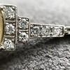 9.50ct (est) Art Deco Yellow Sapphire Bracelet 16