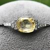 9.50ct (est) Art Deco Yellow Sapphire Bracelet 8