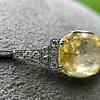9.50ct (est) Art Deco Yellow Sapphire Bracelet 13