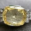 9.50ct (est) Art Deco Yellow Sapphire Bracelet 17