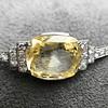 9.50ct (est) Art Deco Yellow Sapphire Bracelet 14