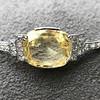 9.50ct (est) Art Deco Yellow Sapphire Bracelet 12