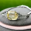 9.50ct (est) Art Deco Yellow Sapphire Bracelet 19