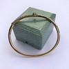 Antique Chrsoberyl Cat's Eye and Diamond Bangle 4