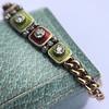 2.14ctw Antique Diamond and Enamel Bracelet 9
