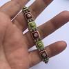 2.14ctw Antique Diamond and Enamel Bracelet 7
