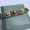 2.14ctw Antique Diamond and Enamel Bracelet 10