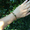 Snake-Motif Yellow Gold Bangle 12