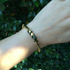 Snake-Motif Yellow Gold Bangle 11