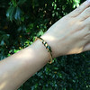 Snake-Motif Yellow Gold Bangle 15