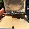Victorian Rose Cut Diamond Bangle 18