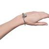 2.65ctw Victorian Turquoise and Rose Cut Diamond Tiara Bangle 2