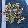 Antique Charm Bracelet 12