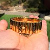 Vintage Gold and Enamel Bangle, by Topazio 11