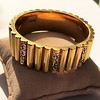 Vintage Gold and Enamel Bangle, by Topazio 4