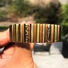 Vintage Gold and Enamel Bangle, by Topazio 6