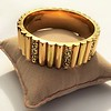 Vintage Gold and Enamel Bangle, by Topazio 0