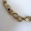 Vintage French Ruby & Diamond Serpent Bracelet 4