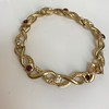 Vintage French Ruby & Diamond Serpent Bracelet 25