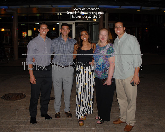 Brad and Paige Engagement Dinner celebration 09-23-16