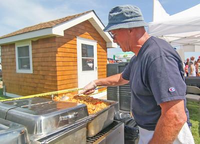 Bob Rinaldi, from Wall. The 2019 Lobster Fest in Bradley Beach, NJ on 8/31/19. [DANIELLA HEMINGHAUS]