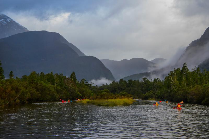 Camelot River Head of Bradshaw Sound Fiordland