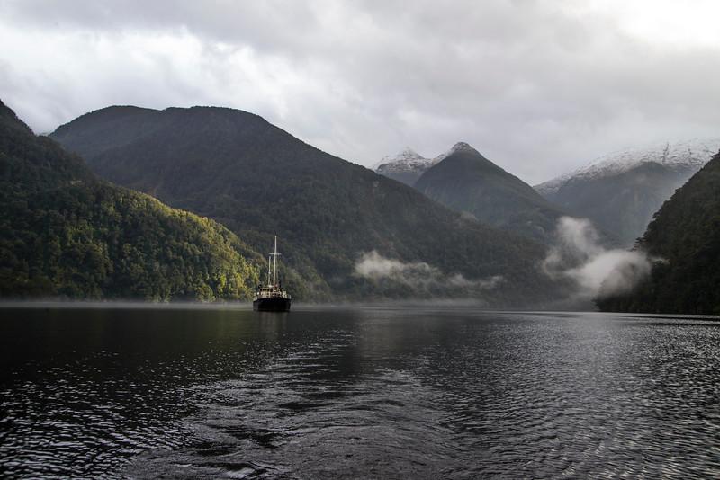 MV Wander Bradshaw Sound Fiordland