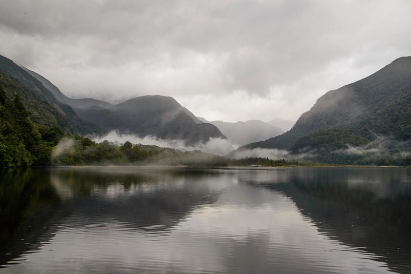 Low Cloud Bradshaw Sound Fiordand