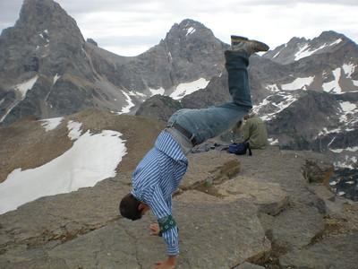 Brady Nash - Table Rock, Grand Tetons, Wyoming