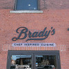 Owners Bill and Kim Brady of the new Brady's Chef Inspired Cuisine Restaurant in Leominster talked about their place on Thursday and are almost ready to open. They have gas lanterns around the door to their place. SENTINEL & ENTERPRISE/JOHN LOVE